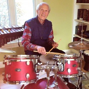 Charles drums to a new beat!