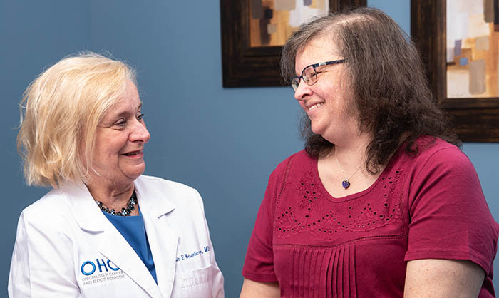 OHC is evaluating a promising new treatment for metastatic HER2-positive breast cancer