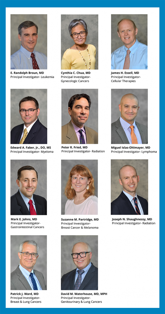 OHC principal investigators